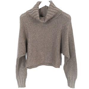 Moda Sweater • Cowl Neck Cropped Sweater